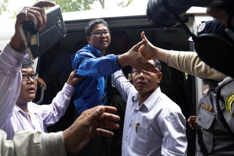 Myanmar court remands Reuter journalists for two more weeks