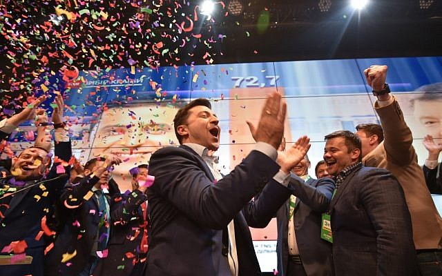Ukraine election: Comedian Zelansky wins presidency by landslide victory