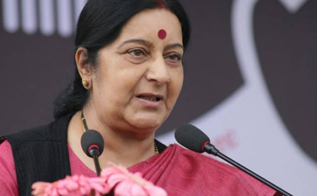 Swaraj raises Masood Azher issue with Chinese counterpart