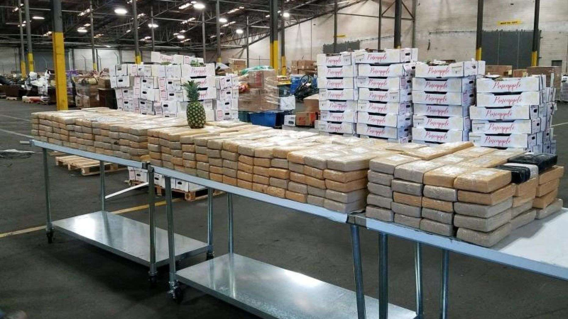 CBP seizes more than $19M of cocaine found inside a pineapple shipment: officials