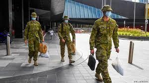 australiadeployshundredsofsoldiersinsydneytoenforcecovidlockdown