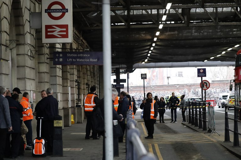 Suspicious packages found near London