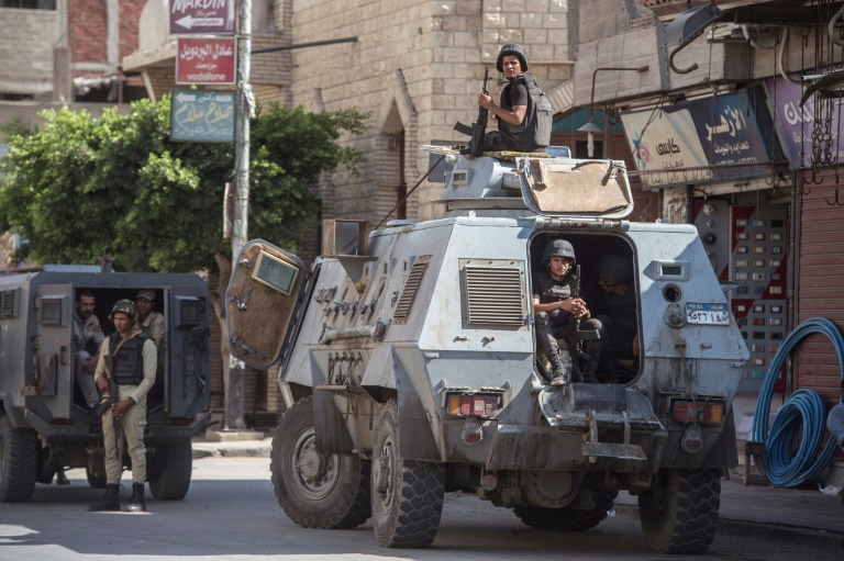 Security forces kill 14 militants in operation in Sinai, Egypt
