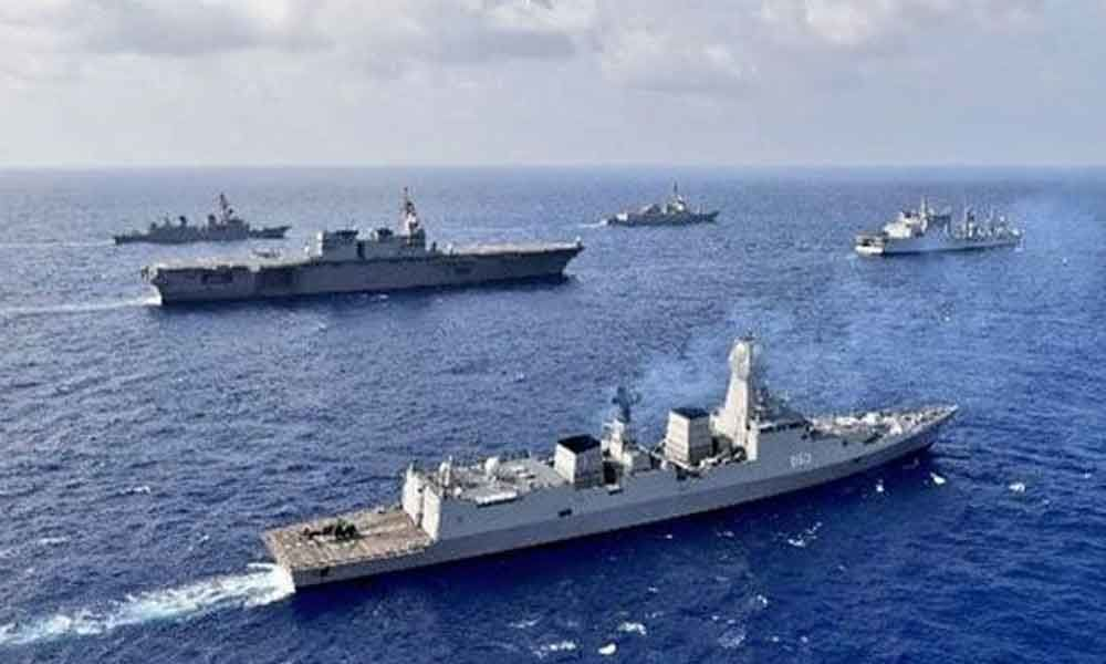 India joins Naval exercises by US, Phillippines, Japan in South China Sea