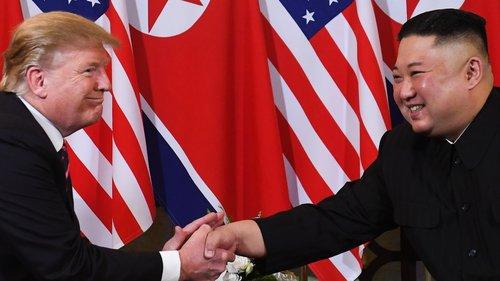 Trump, Kim hold formal talks in Hanoi