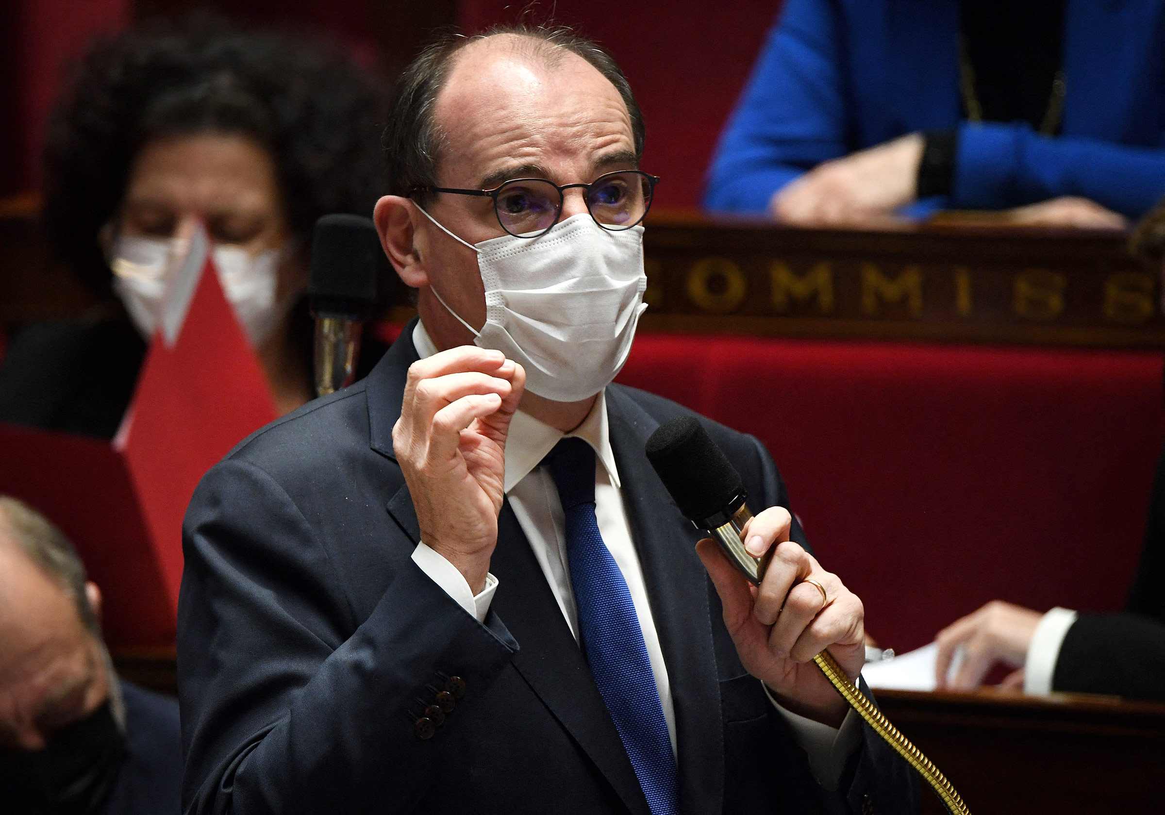 franceentersthirdwaveofcoronapandemic:jeancastex