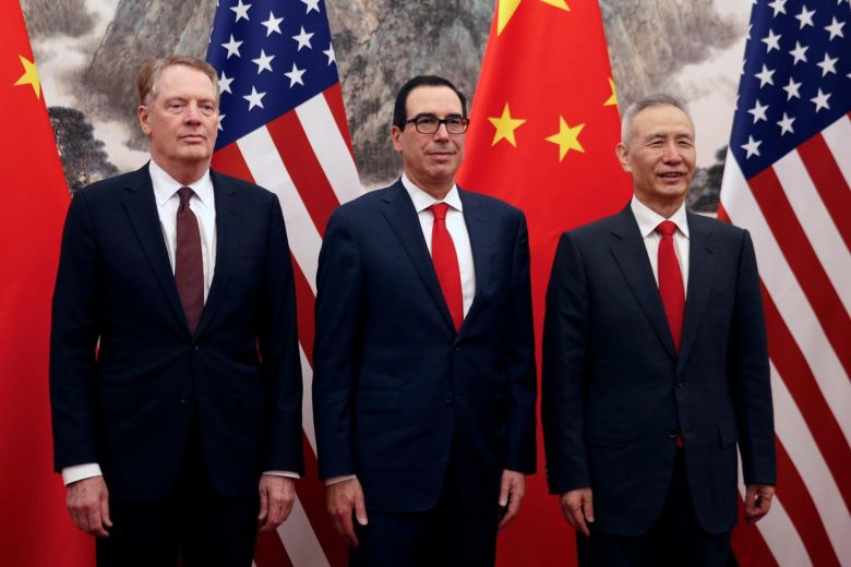 US, Chinese negotiators resume trade talks