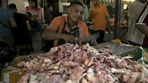 Venezuela crisis hits food markets and a morgue