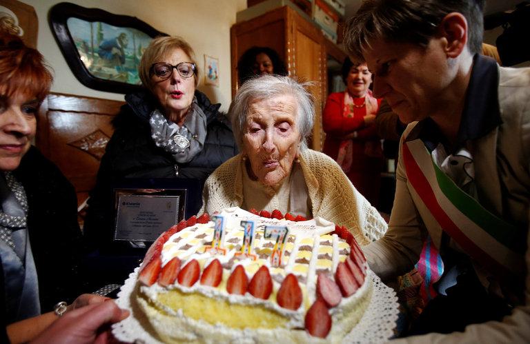 Emma Morano, World's Oldest Person, Turns 117