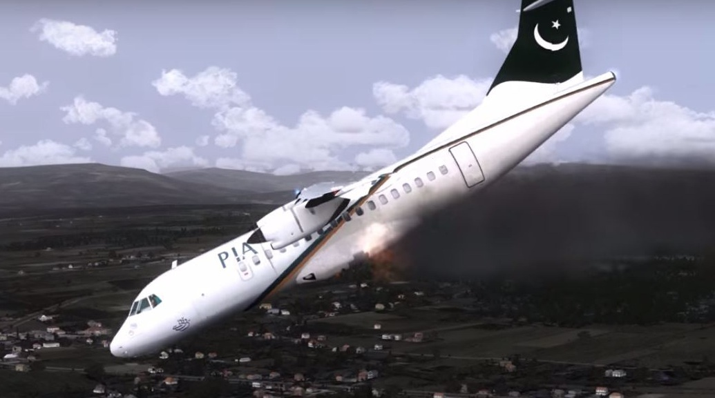 Pakistan International Airlines Crashes In Karachi, leaving nearly 100 dead