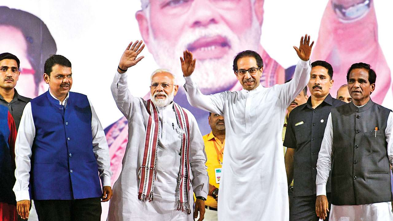 Alliance with BJP inevitable: Shiv Sena chief Uddhav Thackeray