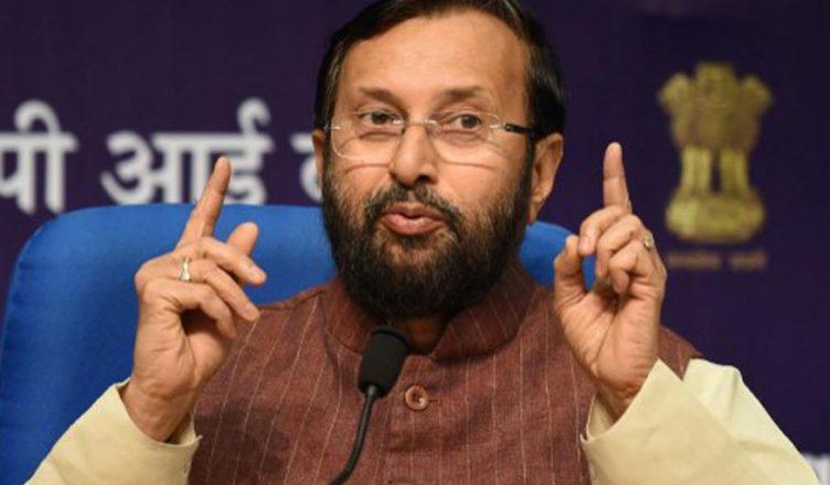 Union minister Prakash Javadekar