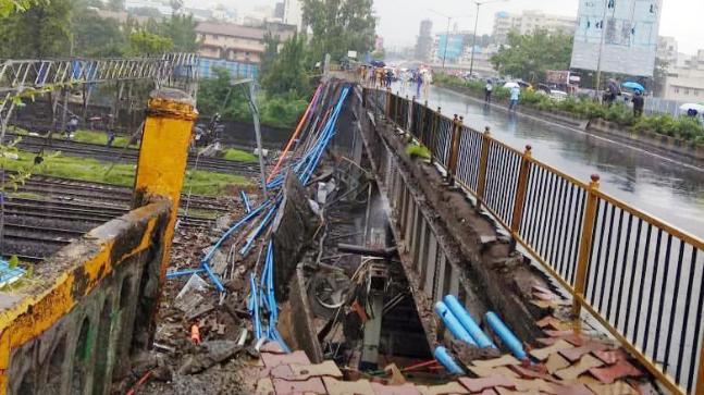 "Rahul Gandhi said civic governance has ""collapsed"" in Mumbai."