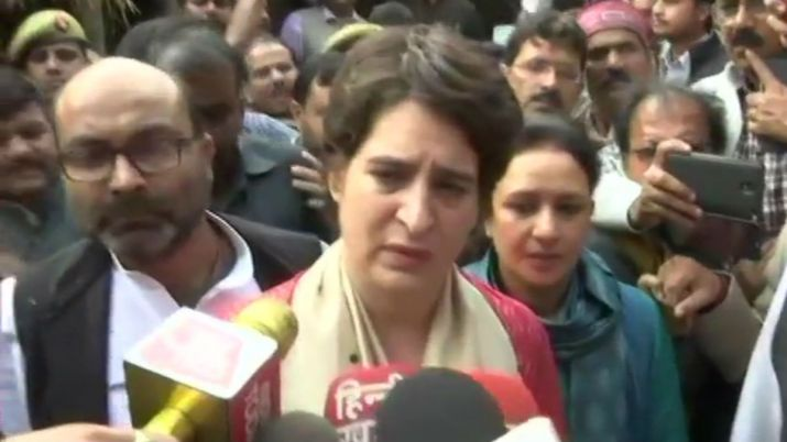 Priyanka Gandhi blames UP govt for not giving security to Unnao victim