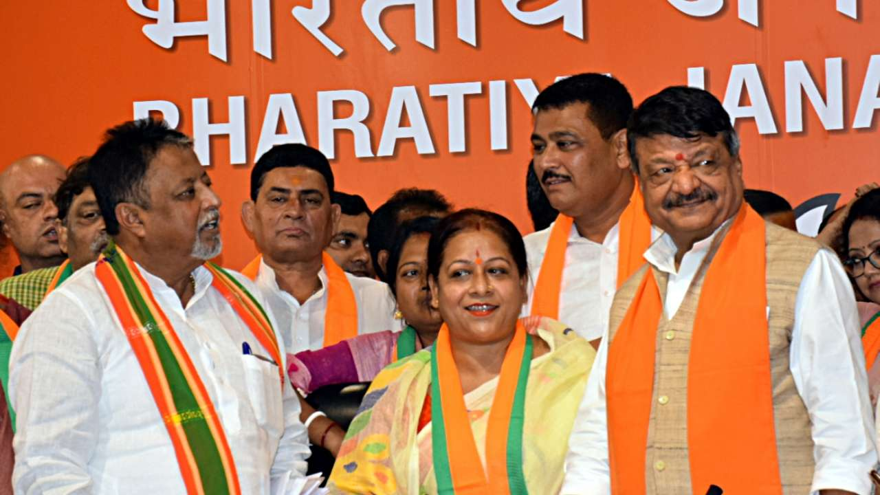 Trinamool Congress MLA Sunil Singh join BJP