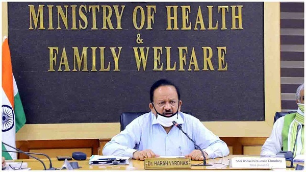 Dr Harshvardhan Says 180 Districts in Country have not seen a Single Corona Virus Case in Last Seven Days