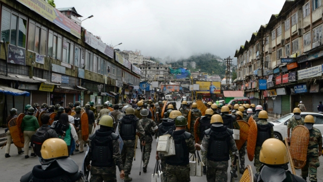 Centre to partial withdraw forces from Darjeeling hill area