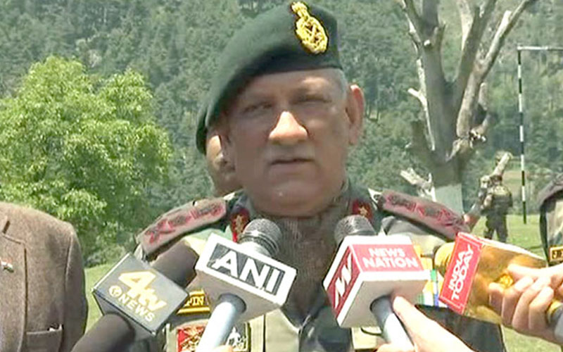 Major Gogoi will be punished if found guilty: Indian Army chief