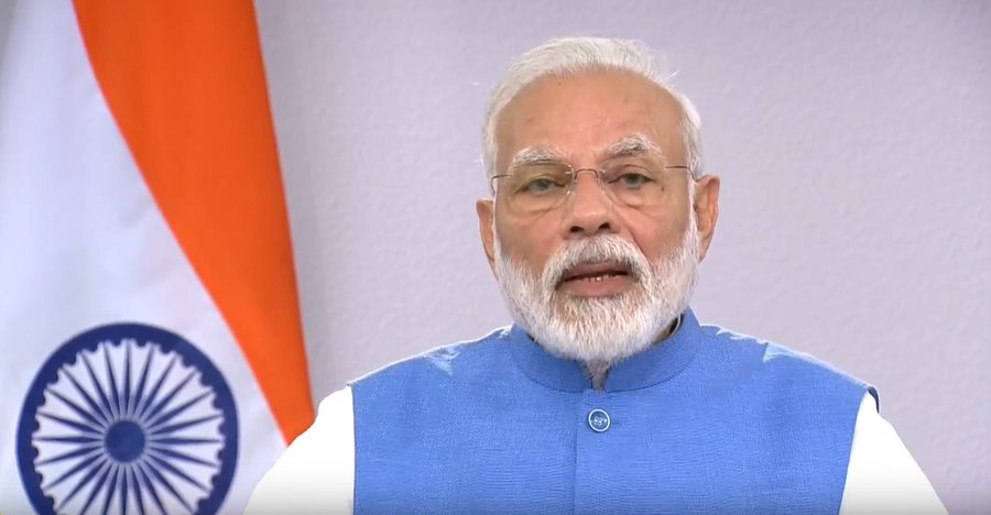 PM Modi appeals countrymen to strengthen India in battle against corruption
