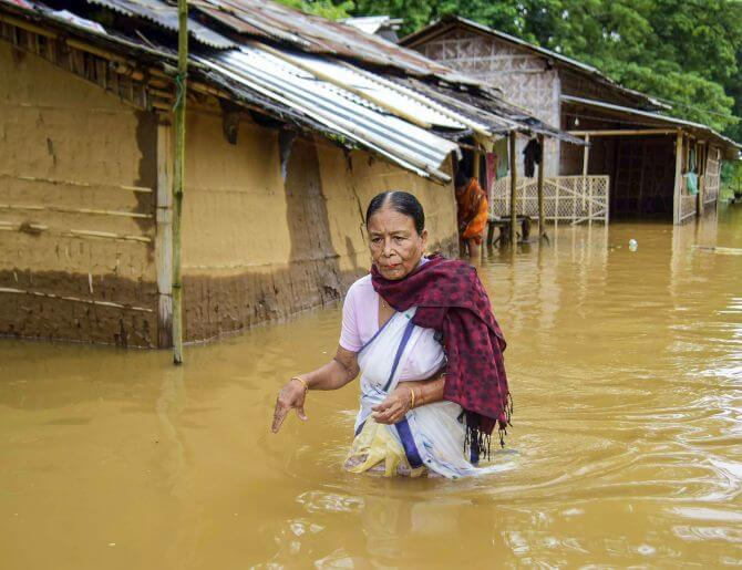 Nine more people perished, 59 lives lost, 33 lakh affected in Assam flood