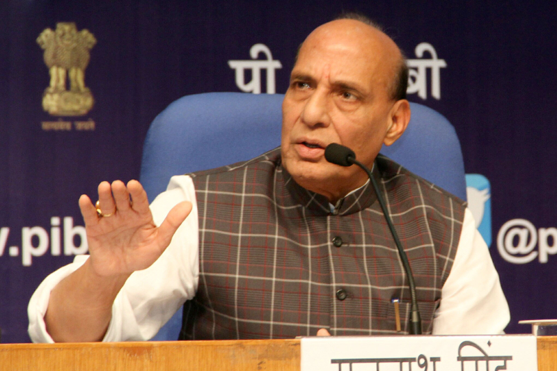 Rajnath Singh to celebrate Dussehra with BSF jawans today