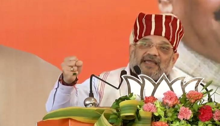 Jharkhand: Union Minister Amit Shah accuses Cong of delaying Ram Mandir construction in Ayodhya