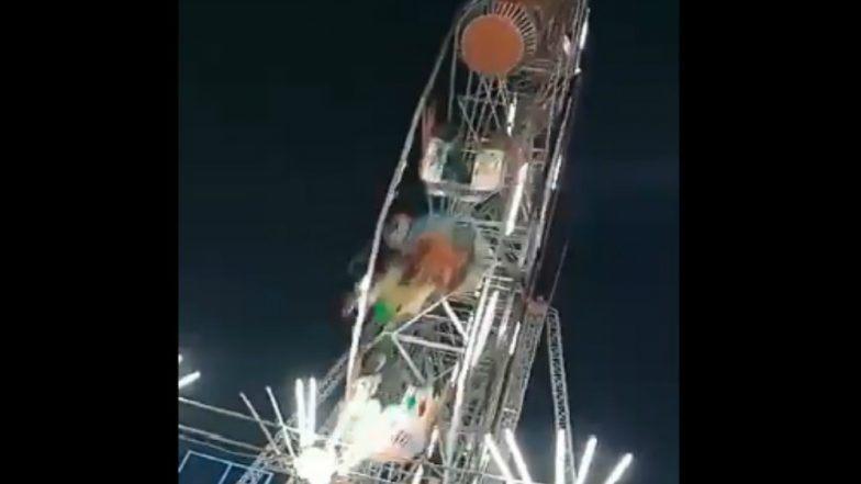 10-year-old killed in Giant Wheel crash at Andhra Pradesh fair