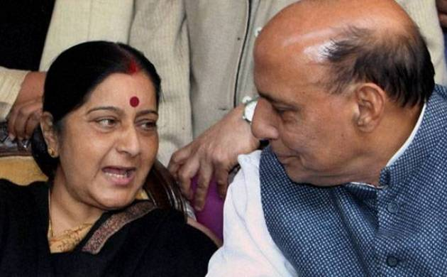 Rajnath, Sushma to brief opposition on China stand-off, J&K