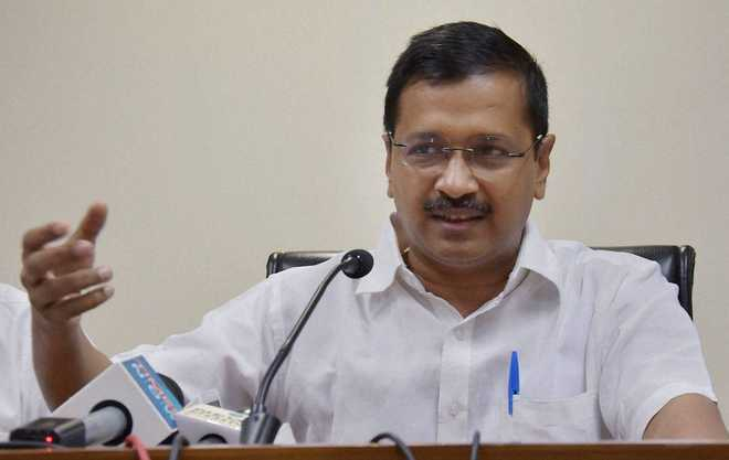 Kejriwal asks PM Modi to apologise after IT Dept raids premises of Gahlot