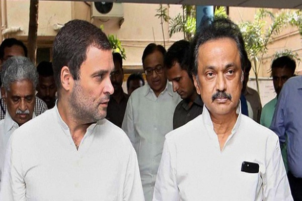 Congress and DMK seal seat-sharing agreement in Tamil Nadu; Congress to contest in 25 seats