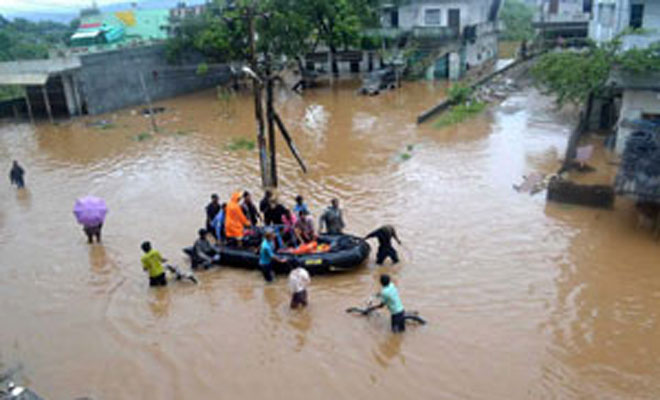 Several districts experience normal to heavy rainfall in Andhra Pradesh