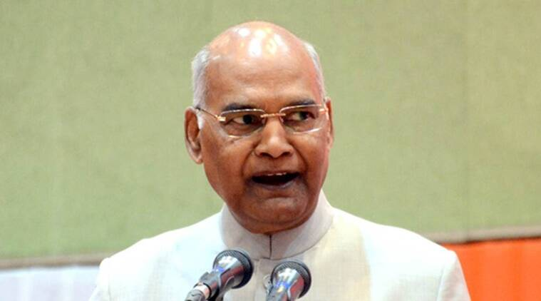 President Ram Nath Kovind will be on a three day visit to Tamil Nadu
