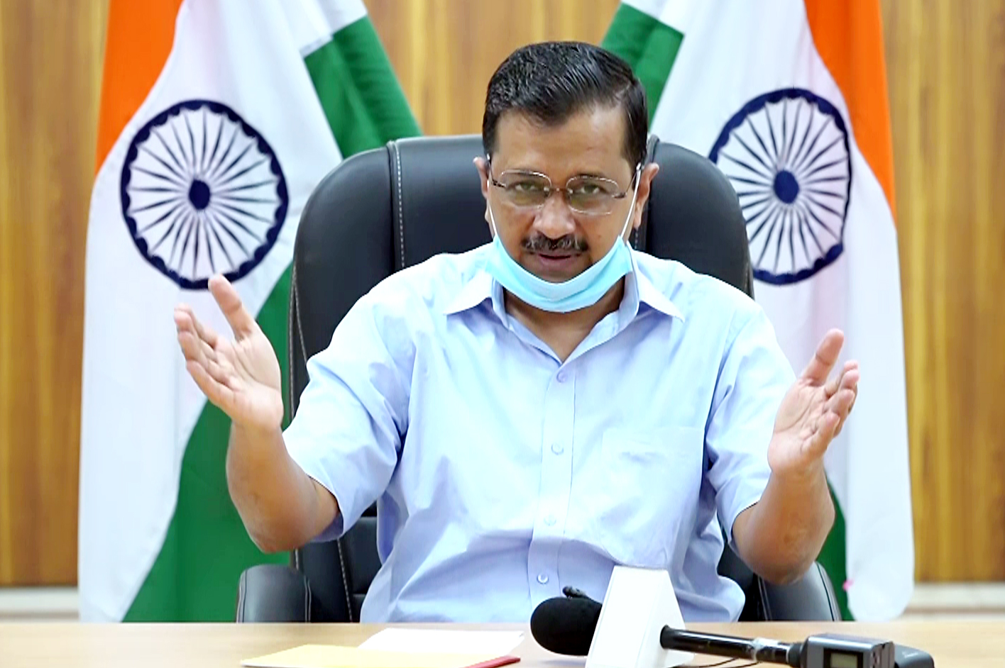 CM Kejriwal to review Covid situation in Delhi