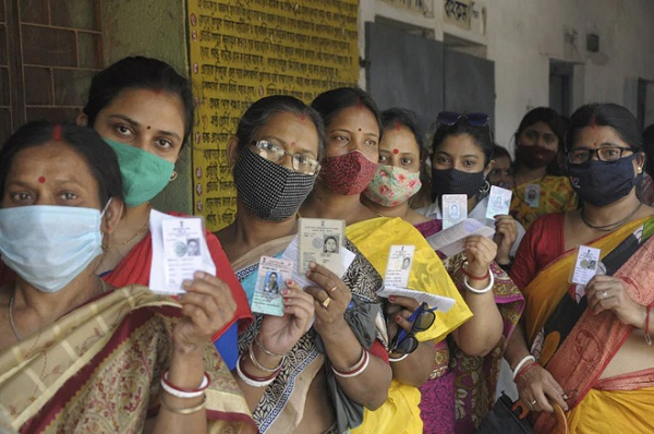 57.30 % Voter Turnout Till 01.30 PM in 6th Phase West Bengal Assembly Elections