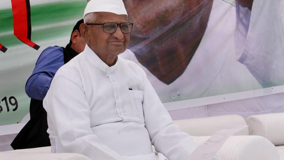 Anna Hazare begins indefinite hunger strike for Lokpal