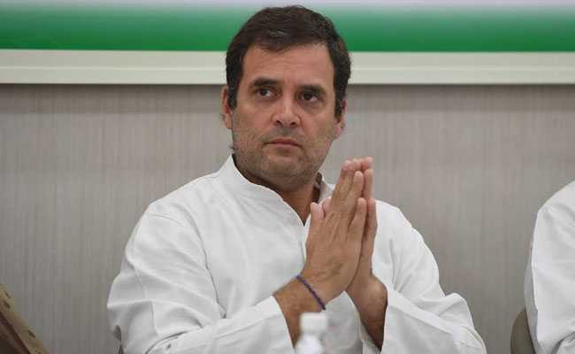 Rahul quits as Congress president