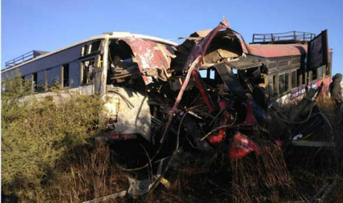 Six people killed as bus rams into parked bus in Bareilly