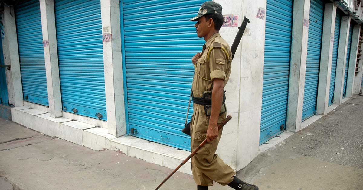 Indefinite curfew imposed in two police station areas of Sonitpur district of Assam