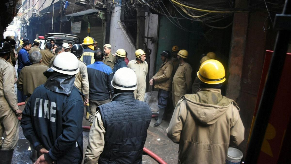 Anaj Mandi fire: Delhi CM Arvind Kejriwal announces Rs.10 lakh ex gratia to families of deceased