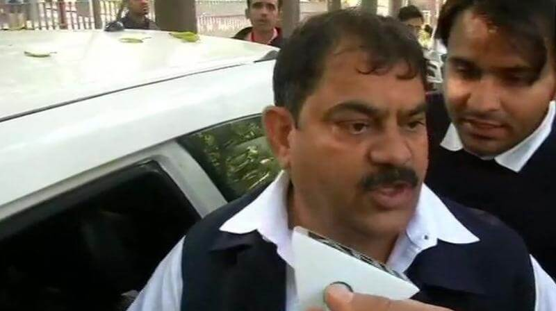 Enforcement Directorate raids Congress Jagdish Sharma