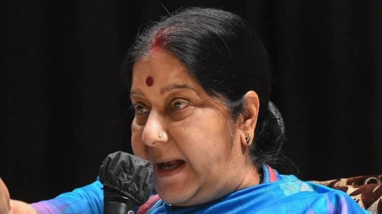 India stands by tsunami-hit Indonesia: Sushma Swaraj