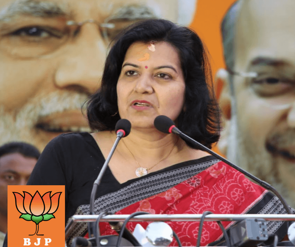 BJP leader and Bhubaneswar MP Aparajita Sarangi fined for violating rules of COVID-19