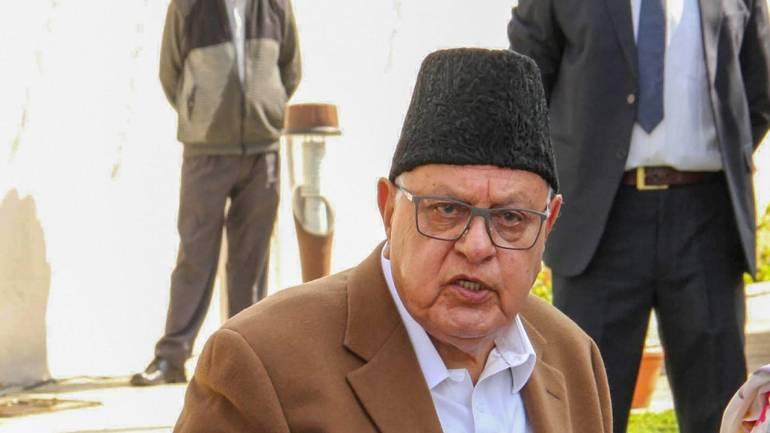 Farooq neither under detention nor arrest: Amit Shah in LS