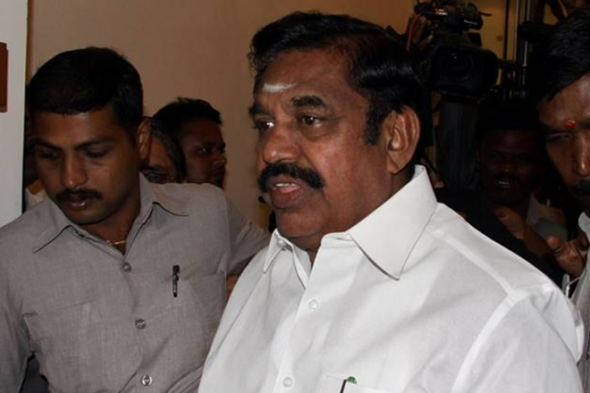 R K Nagar cash for votes: Palanisamy tells assembly that case has been registered