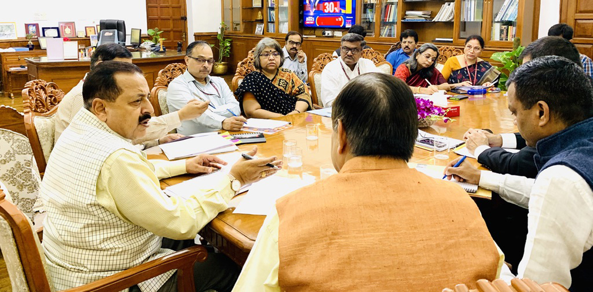 govtaimstobringdevelopmentgoodgovernanceinjkladakh:drjitendrasingh