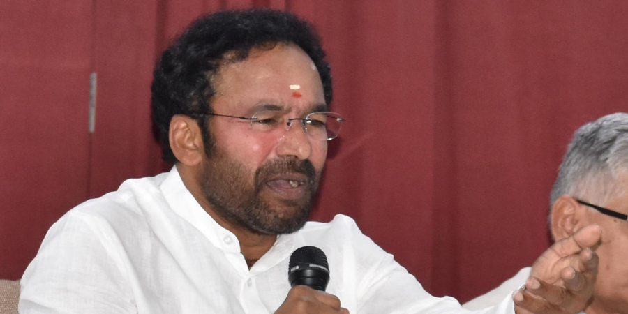 MoS for Home Affairs G Kishan Reddy visits Leh