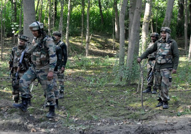 Security forces bust terrorist hideout in Kulgam district, J&K