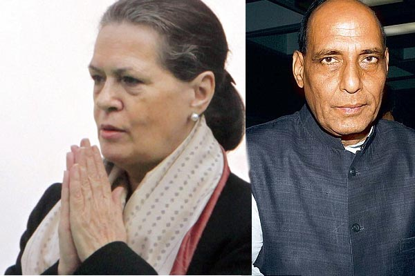 Last respects to Mufti Mohammad Sayeed by Sonia & Arun Jaitley