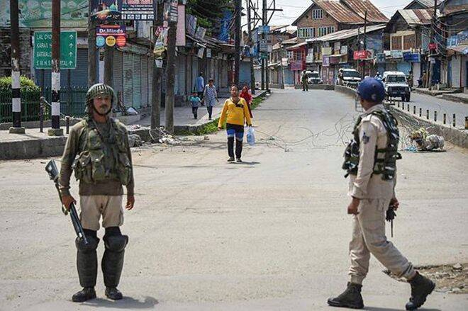 Restrictions imposed in Kashmir Valley, markets shut