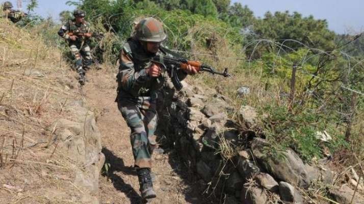 Top Army commander visits forward bases along LoC in J-K